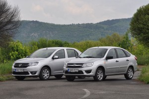 lada granta vs renault new logan