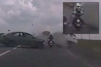 A lehetetlent élte túl ez a motoros