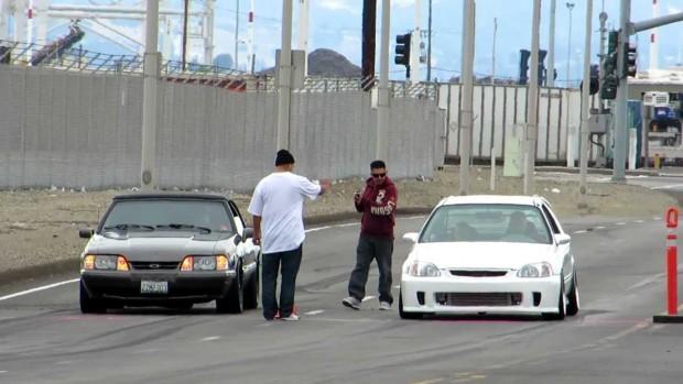 Világok harca: turbós Civic a Mustang ellen