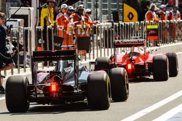 McLaren: A Ferrari nem lesz veszélyes ránk