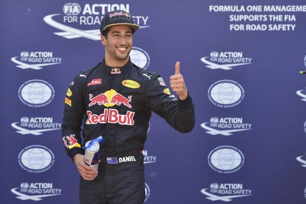F1: Ricciardo betol néhány bécsi szeletet