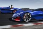 Hibrid versenyautó a Peugeot-tól