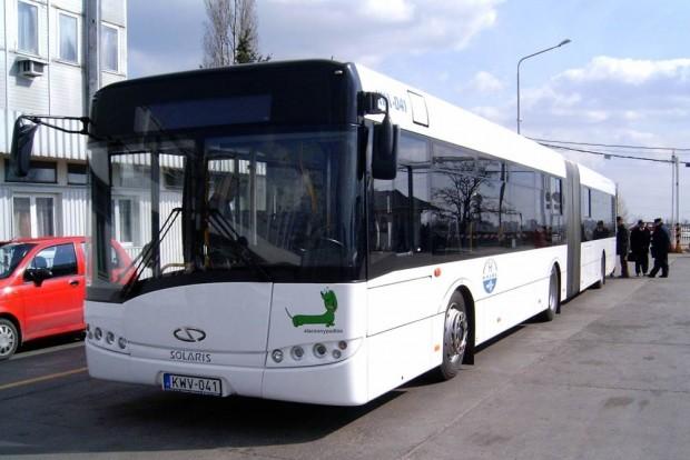 A Lengyelországban készülő Solaris Urbino 18-at a BKV is tesztelte.
