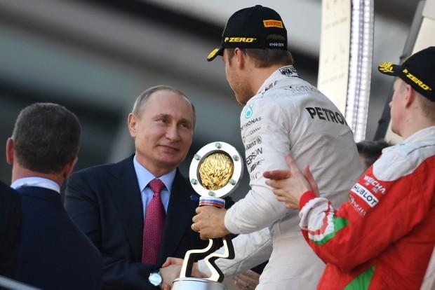 F1: Hogy beszélt Putyin Rosberggel?