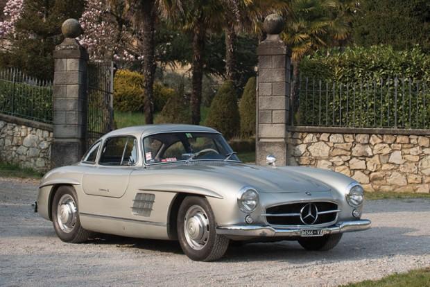 1955 Mercedes-Benz 300 SL Gullwing:  €1.232.000 (Agusta grófnő gyűjteménye)