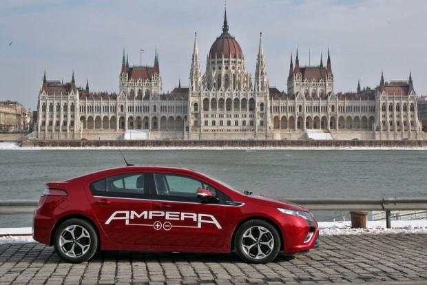 2011-ben már hozzánk is eljutott az Ampera