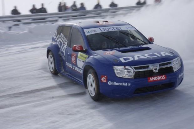Jégrali-autóként láttuk először a Duster koncepciót, még 2009-ben