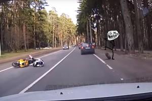 Videón az évtized balesete, ilyet még nem láttál