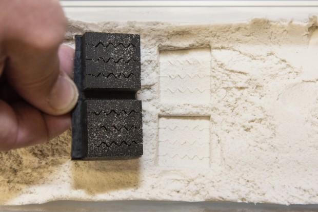 Ilyen parányi méretben, blokkonként kezdik el tesztelni a mintázatot