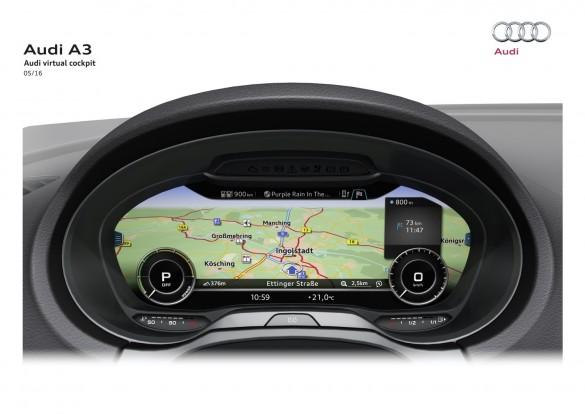 Gyönyörű a navigációs háttérkép az új műszeregységen