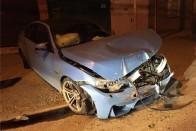 Első útján törték ronggyá az új BMW-t