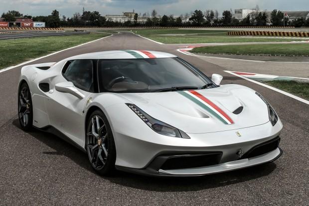 Gyári Ferrari, egyetlen példányban