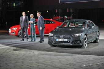 Beültünk az új Audi A5-be