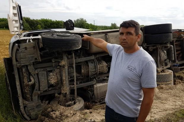 Megmentette az autós életét a kamionos