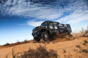 Bemutatkozott a Dakarra szánt új Kamaz