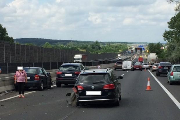 Sorozatos balesetek az M3-ason Gödöllőnél