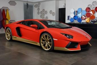 Lamborghini a 60-as évek stílusában
