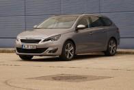 Teszt: Peugeot 308 SW 1.6HDI automata váltóval