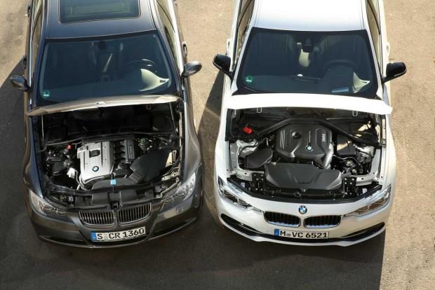 Az F30-as hármas BMW-ben simán elférne egy nagyobb motor, de ezt a BMW nem akarja. Igaz, a 330i teljesítménye még így is több a kelleténél