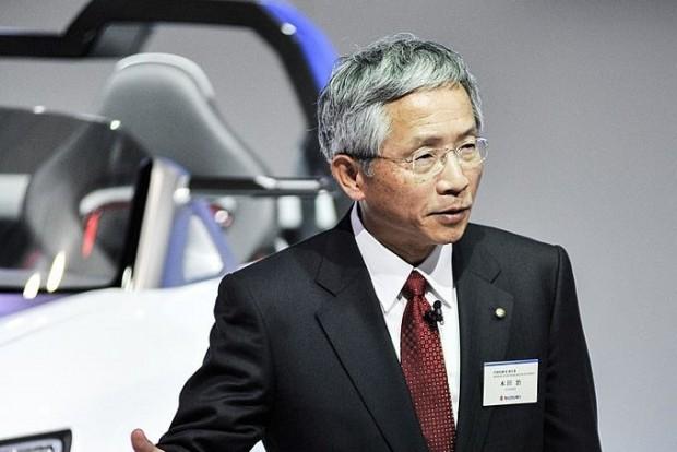 Osamu Honda több mint 40 éven át dolgozott a Suzukinál