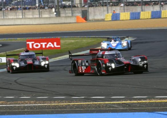 Audi R18 (2016) #8 (Audi Sport Team Joest), Lucas di Grassi, Loïc Duval, Oliver Jarvis