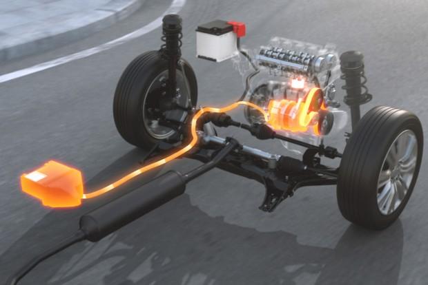 Mindösze 6,2 kg az SHVS hibridrendszer többletsúlya az 1,2-es benzinesez képest, amelynek motorját kiegészíti a villamos gép