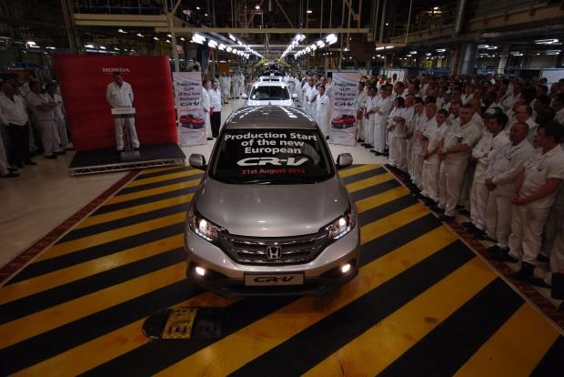 1985-ben alakult a Honda gyéra Swindonban. A Civic mellett az európai CR-V-k készülnek itt