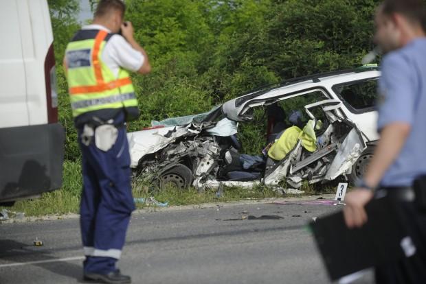 Megrázó képek a dunavarsányi balesetről