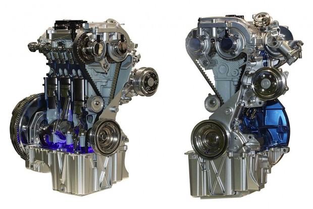 Az év motorja 1.0 liter alatt A Ford legalább itt megőrizte elsőségét; nyomában a VW háromhengerese, és a BMW i3 650 köbcentis generátorral szerelt elektromos hajtáslánca.