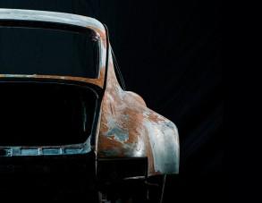 Holtában is gyönyörű a 911-es Porsche
