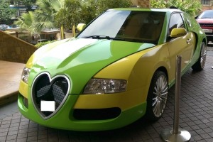 Nem láttunk még ennél cukibb Bugatti-hamisítványt