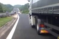 Tanulságos baleseti videó az M1-esről