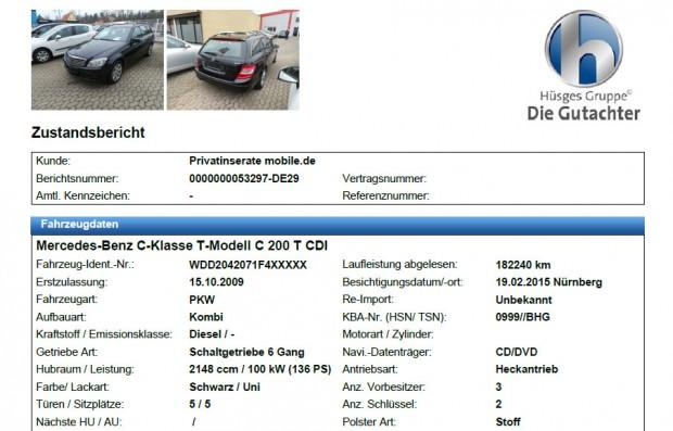 100-150 euróért nézik át független szakértők az autót. Általában a megrendelés után 1-2 nappal szállnak ki és a következő napon küldik az eredményt, németül vagy angolul