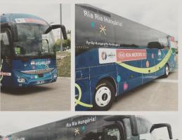 Ezzel az EB-busszal utazik majd a magyar válogatott