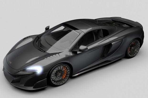 Mindene szénből van a legújabb McLarennek