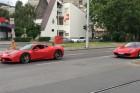 Ferraris falka vonult át Óbudán