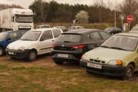 Parkolási hungarikumok Liszt Ferihegy körül