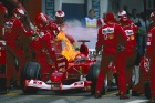 F1: Schumacher a tűzzel játszott, de győzött