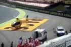 Brutális halálos baleset a motorversenyen