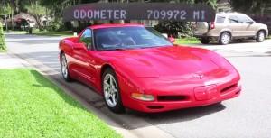 Nézd meg, milyen egy 1 milliót futott Corvette!