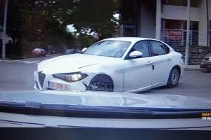 Még kapni sem lehet, mégis sikerült összetörni egy Alfa Romeo Giuliát