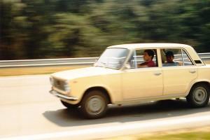 Ladával a Hungaroringen? Senna megcsinálta