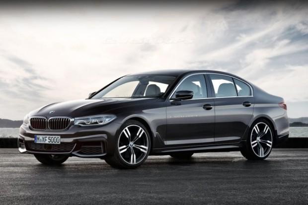 Nem hivatalos grafika a következő generációs BMW 5-ösről