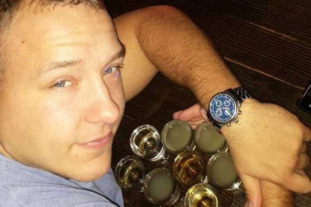 A rendőr, Nicholas Batka egy korábbi felvételen. Rokonai nem tudtak arról, hogy gondjai lettek volna az ivással.