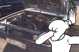 Nem hitte el a magyar szerelő, amit az Audiban lát