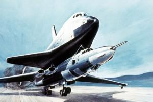 A szovjet repülőgép, ami űrhajót szállított