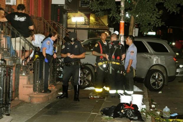 Iszonyatos pusztítást végzett a részeg rendőr