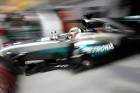 Hamilton nem csalódott, hogy Rosbergé a pole