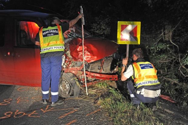 Megrázó fotók a pomázi halálos balesetről