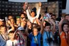 Magyar gyerekek faggatták Nico Rosberget